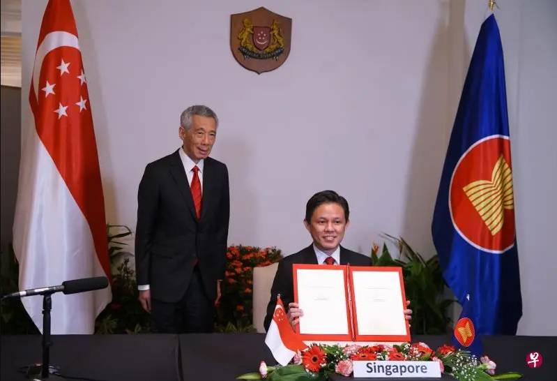 RCEP改变市场格局,进军海外市场从立足新加坡开始!